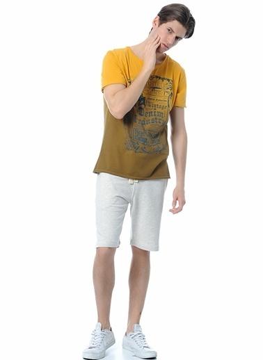 T-Box Tişört Hardal